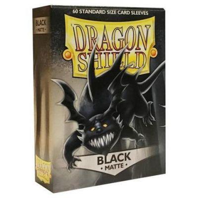 Протекторы Dragon Shield матовые черные 60 шт.