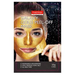 Purederm Омолаживающая маска-пилинг (золотая) Galaxy Gold Peel-Off Mask