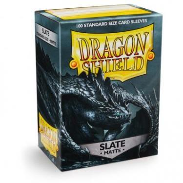 Протекторы Dragon Shield матовые Slate