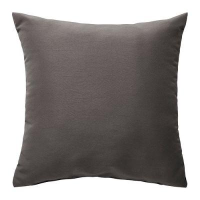 КРОНЭРТ Подушка, серый 40 х 40 см