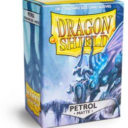 Протекторы Dragon Shield матовые серовато-синие