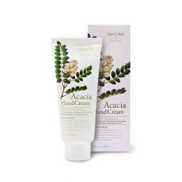 3W Clinic Moisturizing Hand Cream (acacia) 100ml Крем для рук с соцветиями акации