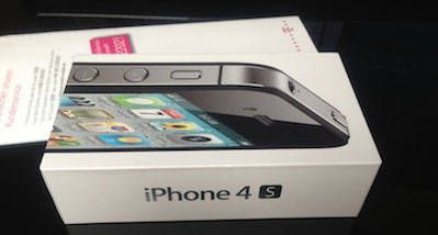 Коробка iPhone 4S Все цвета. Документация + скрепка