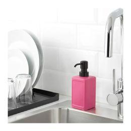 РИННИГ Дозатор для жидкого мыла, розовый 450 мл