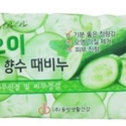 Rose cucumber peeling soap, Мыло-пилинг с огурцом