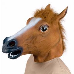 Маска латексная Лошадь