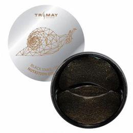 TrimayBlack Snail Gold Nutrition Eye Patch Питательные патчи для век с муцином черной улитки