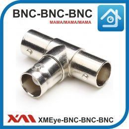 XMEye-BNC-тройник (мама/мама/мама). Разъем для видео сигнала в системах видеонаблюдения.