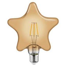 Лампа Filament Зірка 6W Е27 2200К/40 Rustic Star-6