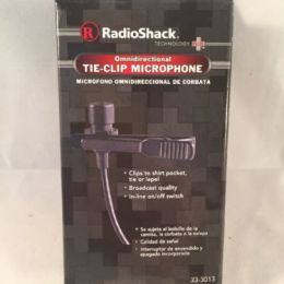 RadioShak Tie-Clip Microphone