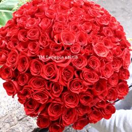 Букет із 101 шт. троянд .