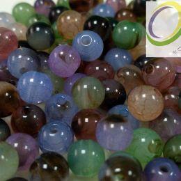 Бусина имитация натурального камня , 8 мм, шт