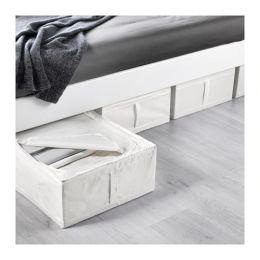 СКУББ Сумка для хранения, белый, 44 х 55 х 19 см