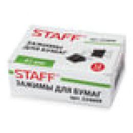 Зажимы для бумаг STAFF, КОМПЛЕКТ 12 шт., 41 мм, 200 листов, черные, картонная коробка, 224609