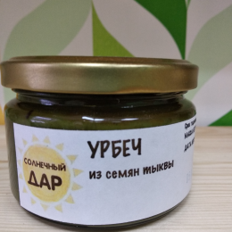 "Урбеч из семян тыквы ""Солнечный дар"""
