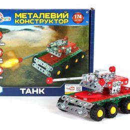 """Конструктор металл. """"Танк"""" Технок /10/"""
