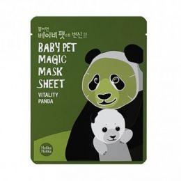 "Holika Holika Тканевая маска ""мордочка панды"" Baby Pet Magic Mask Sheet Vitality Panda"