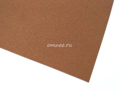 Фоамиран 1 мм, 20х30 см, цв.: коричневый вк-004