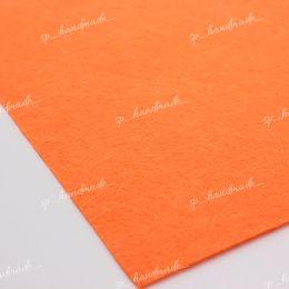 Фетр жесткий 1 мм 20см*30см ярко-оранжевый 1 шт/полиэстер