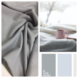 Интерлок серый