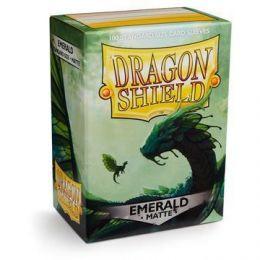 Протекторы Dragon Shield матовые изумрудные