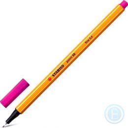 "Ручка капиллярная STABILO ""Point"", толщ. письма 0,4мм, 88/56, розовая"