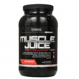 ULTIMATE NUTRITION, Muscle Juice, банка 2,27кг. Strawberry