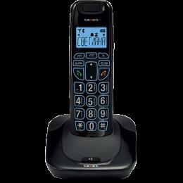 Телефон беспроводной Texet TX-D7505А черный