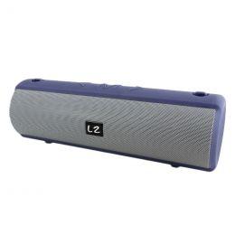 Портативная акустика BT, USB, SD, E23, silver