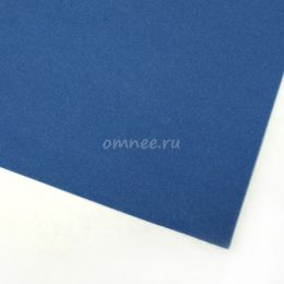 Фоамиран 1мм, 20х30 см, цв.: ВК-048 синий