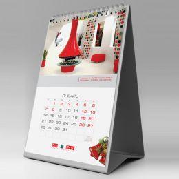 календарь-домик узкий