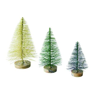 ФЕЙКА Искусственное растение, 3 шт., рождественская елка