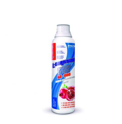 MYNUTRITION, L-carnitine extreme attack, бутылка 500мл. Гранат