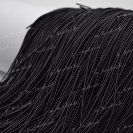 Канитель мягкая Black (Matte) 1 мм 5 гр (Индия)