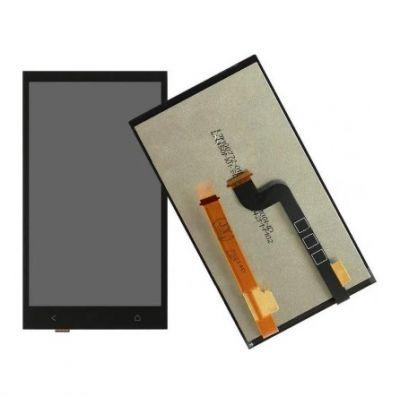 Дисплей HTC Desire 601/Desire 601 Dual в сборе с тачскрином Черный