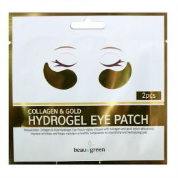 Beauugreen Gold& Collagen Hydrogel Eye Patch /2pcs