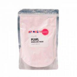 Lindsay PEARL Modeling Mask Pack (Zipper) Spatula+Measuring Cup Альгинатная маска для лица Премиум класса с жемчугом