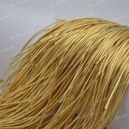 Канитель мягкая Golden 1 мм 5 гр (Индия)