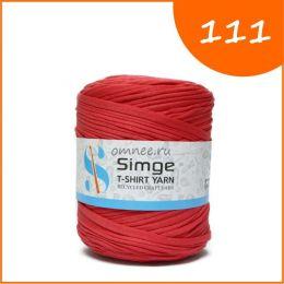 Трикотажная пряжа Simge, цв.: 111 томатно-красный
