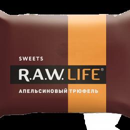 """Конфеты R.A.W. LIFE SWEETS """"Апельсиновый трюфель"""""""