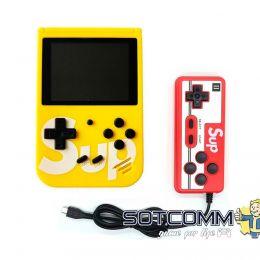 Игровая приставка Sup 400 (3,0ʺ, цветной дисплей, 8 бит, AV-кабель), желтая