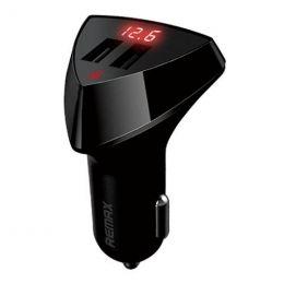 Автомобильный адаптер Remax Aliens LED RCC208 2USB 5V 3.4A