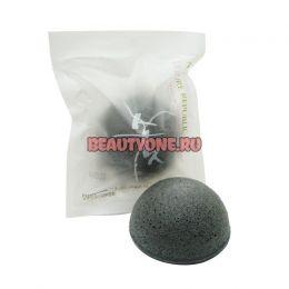 NATURE REPUBLIC Спонж для очищения пор Beauty Tool Natural 100% Jelly Cleasing Puff Charcoal