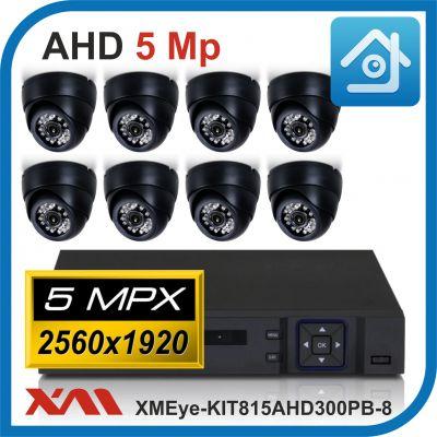 Комплект видеонаблюдения на 8 камер XMEye-KIT815AHD300PB-8.