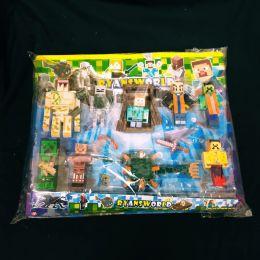 Набор фигурок Майнкрафт 9шт (Minecraft)