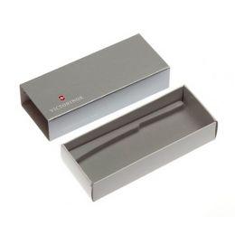 Коробка для ножей VICTORINOX 111 мм толщиной до 4 уровней, картонная, серебристая