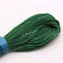 Мулине хлопок Gamma зеленый №0212 8 м