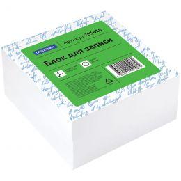Блок для записи OfficeSpace, 8*8*4см, белый