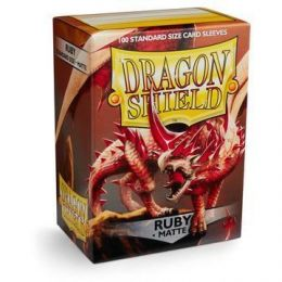 Протекторы Dragon Shield матовые рубиновые